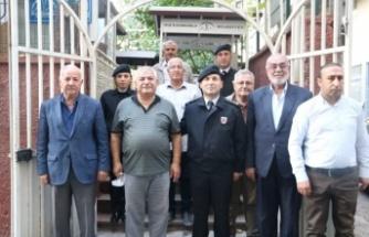 Jandarma Komutanı Özdurhan, muhtarları ziyaret etti