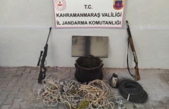 Kahramanmaraş'ta bağ evi hırsızları tutuklandı