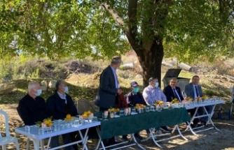 KSÜ Ziraat Fakültesi ve Andırın İlçe Tarım ve Orman Müdürlüğü İşbirliğiyle Çiftçilere Uygulamalı Eğitim Verildi