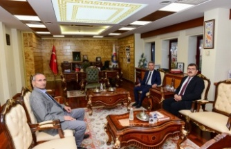 TÜBİTAK Başkanı Prof. Dr. Hasan Mandal KSÜ'yü Ziyaret Etti