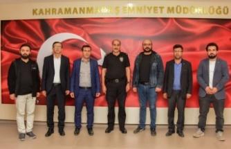 UGİYAD'dan Müdür Cebeloğlu'na ziyaret