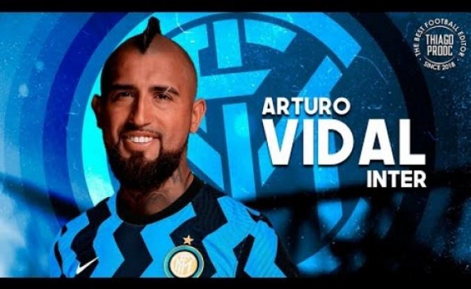 Inter, Vidal transferini resmen açıkladı