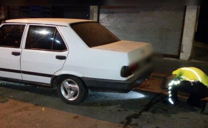 Kahramanmaraş polisinden rahatsızlık veren araçlara abluka