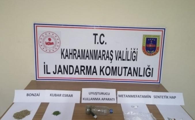 Kahramanmaraş'ta uyuşturucudan 14 kişi yakalandı