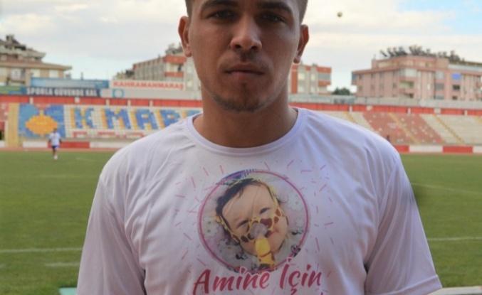 Düziçispor FK'den Amine Sultan'a umut kampanyasına destek