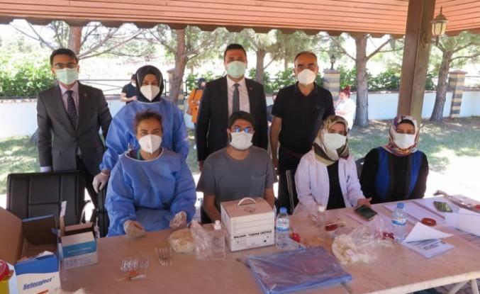 Kahramanmaraş OSB'de bir günde bin 600 kişi aşılanıyor