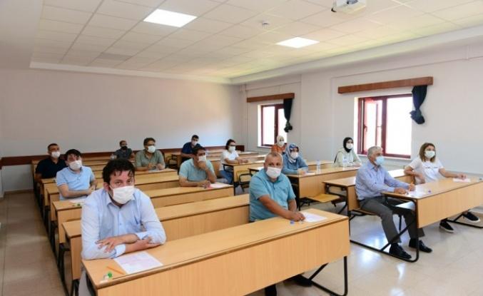 241 Akbel Personeli Personel Ölçme ve Değerlendirme Sınavına Katıldı