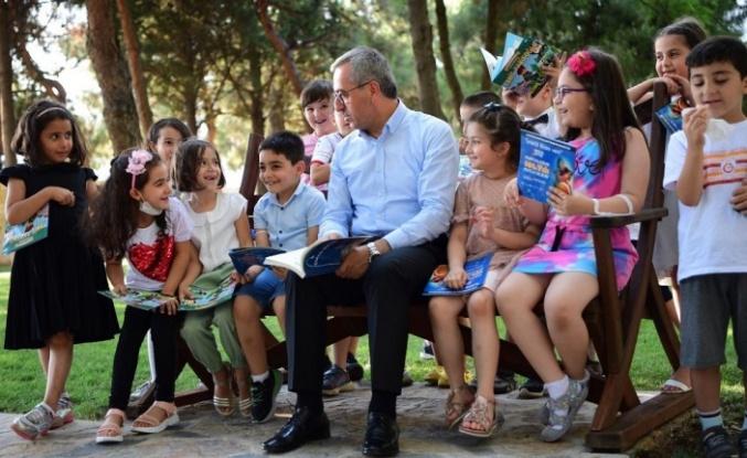 Başkan Güngör'den Miniklerle Örnek Etkinlik