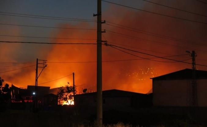 Kahramanmaraş'ta yangın kontrol altına alındı