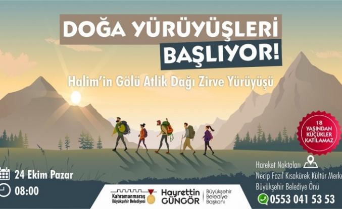 Doğa Yürüyüşleri'nde Yeni Rota Atlik Dağı Zirvesi
